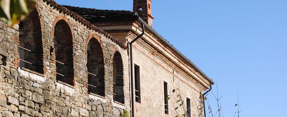 Benedictine monasteries between Alba and the Upper Langa