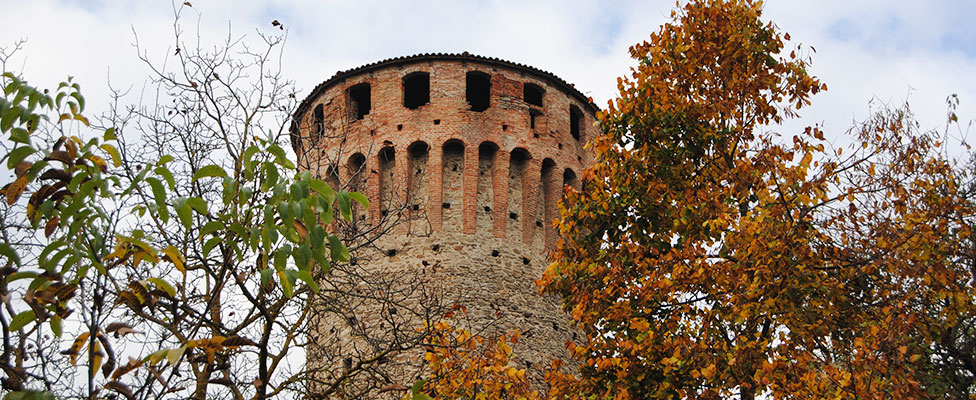 Mura urbiche e torre di Priero